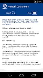 hempel datasheets android apps on google play