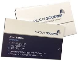 Embossed Business Cards Sydney Business Card Printing In Sydney