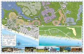 Map Of Florida Gulf Side by Watercolor Vacation Rentals