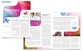 pharmacy brochure template free pharmacy school newsletter template word publisher