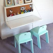 white high gloss polished wooden kids study desk with double