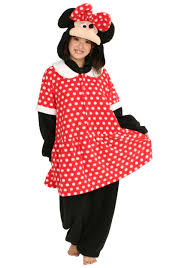 Minnie Mouse Womens Halloween Costume Minnie Mouse Pj Costume Disney Pajama Costume Ideas