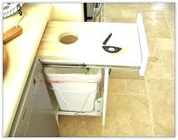 trash cans for kitchen cabinets kitchen trash can roaminpizzeria com