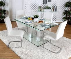 glass modern dining table glass contemporary dining table glass contemporary dining table