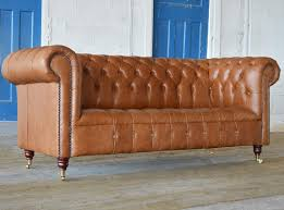 Handmade Chesterfield Sofas Uk Edward Leather Chesterfield Sofa Abode Sofas