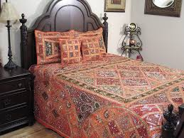 inspired bedding orange sari duvet 5p india inspired bedding luxurious