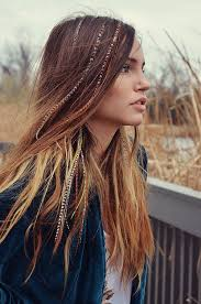 feathered front of hair the 25 best hair feathers ideas on pinterest feathers in hair