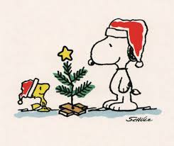 snoopy tree brown christmas tree christmas snoopy