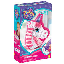 find the plushcraft fabric by number unicorn pillow kit at michaels