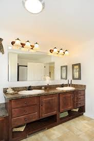 open bathroom vanity