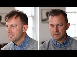 haircuts for balding men over 60 men s hairstyle tutorial thin or thinning hair youtube