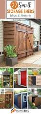 Backyard Building Ideas 27 Unique Small Storage Shed Ideas For Your Garden Small Storage