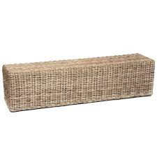 livingroom bench white wicker bench seat rattan bench seat rattan two seater bench