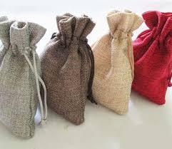 burlap drawstring bags wholesale 100pcs 13 18 cm color jute bag burlap drawstring