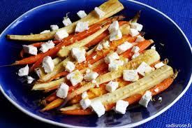 cuisiner des panais carottes et panais rôtis au sirop d érable et citron radis