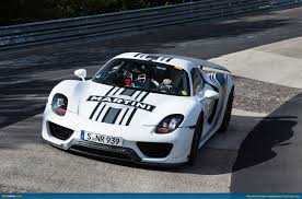 ausmotive  porsche 918 spyder at the nà rburgring