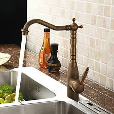 antique brass kitchen faucets antique brass centerset kitchen faucet faucetsuperdeal