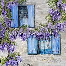 online get cheap wisteria painting aliexpress com alibaba group