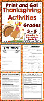 thanksgiving activities grades 3 5 keep your students engaged
