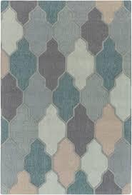 surya surya pollack morgan teal multi area rug 125937