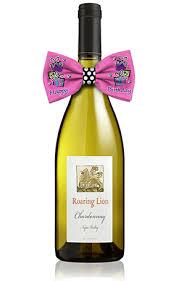 wine bottle bow happy birthday presents wine bottle bowtie
