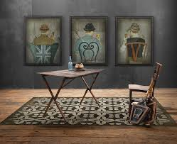 Vinyl Floorcloths  Patterns With Hundreds Of Options Pura - Decorative floor mats home