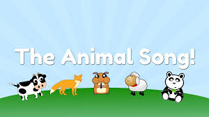fun and fast animal song for kids tune of
