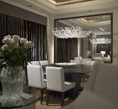 Large Dining Room Mirrors As You Can See The Mirror Allows The Cove Lit Tray Ceiling To