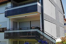 balkon paneele balkongeländer aluminium