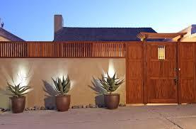 Southwestern Sconces Wall Landscape Southwestern With Garden Gate Southwestern Outdoor
