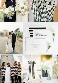 unique black and white wedding decor iawa