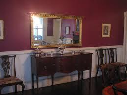 red dining room chair rail dzqxh com