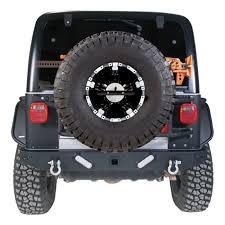 2000 jeep bumpers tj wrangler hd rear bumper w led backup lights 83641