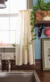 Curtain Sink by Far Above Rubies Muslin And Lace Sink Skirt And Cafe Curtains