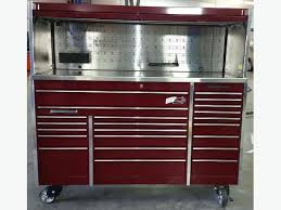 snap on tool storage cabinets snap on tool cabinet and hutch krl masters series outside north