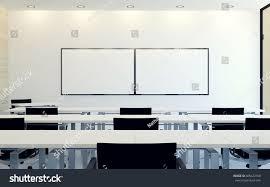 modern interior business conference room blank stock illustration