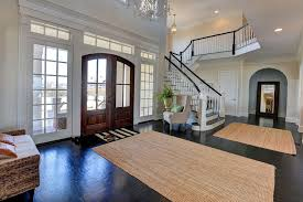 Pottery Barn Jute Rugs Traditional Entryway With Carpet U0026 High Ceiling In Monmouth Beach
