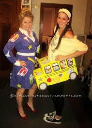 Truck Driver Halloween Costume Fun Magic Bus Ms Frizzle Halloween Costume