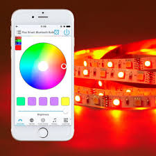 color led light strips bluetooth smart led light strip kit color changing tape lights