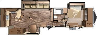 Fifth Wheel Floor Plans 5th Wheel Floor Plans With Rear Kitchen Open Range 3x 388rks