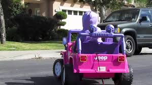 barbie jammin jeep wptv barbie jeep commercial youtube