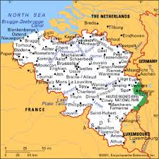 belgium city map communities map of belgium