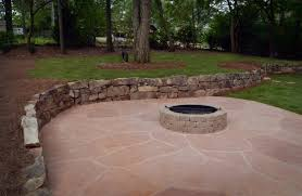 Belgard Fire Pit by Atlanta Retaining Walls Personal Touch Lawn Care