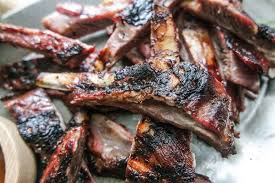 garlic u0026 rosemary grilled lamb ribs recipe jess pryles