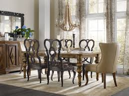 dining room sets leather chairs hooker furniture dining room leather dining chair 300 350142