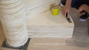 Plywood Stairs Design Homemade Modern Ep99 Diy Cnc Spiral Staircase