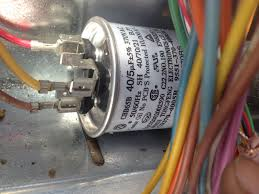 a c capacitor wiring diagram components
