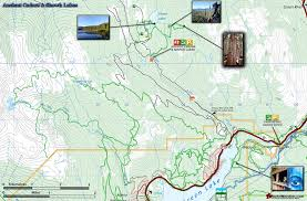 Whistler Canada Map by Ancient Cedars Map