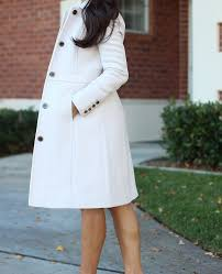 winter neutrals j crew lady day coat in antique linen and banana