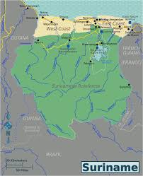Map Of The Amazon River Surinamese Rainforest U2013 Travel Guide At Wikivoyage